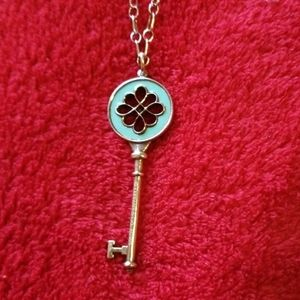 Jewelry - FLASH ❣Tiffany&Co. Necklace w/Enamel Key Pendant